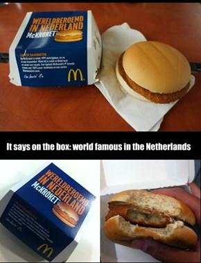 Dutch Burger: The McKroket