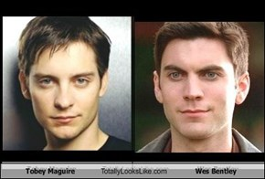 Tobey Maguire Totally Looks Like Wes Bentley