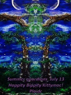 Summer guardians  July 13 Happity Bippity Kittymac!  Plaidc