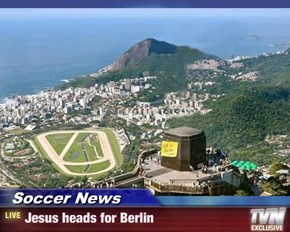 Soccer News - Jesus heads for Berlin