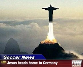 Soccer News - Jesus heads home to Germany