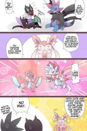 Sylveons tip for staying cool in summer