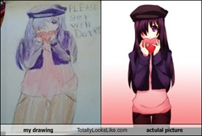 my drawing Totally Looks Like actulal picture