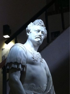 Who Knew This Majestic Statue of Ron Swanson Existed in Philly?