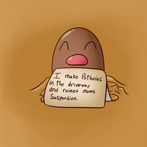 Diglett Wednesday: Such a Shame