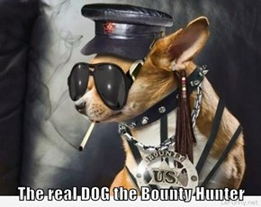 The real DOG the Bounty Hunter