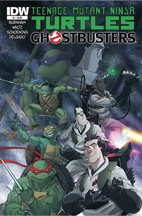 Ninja Turtles meets the Ghost Busters
