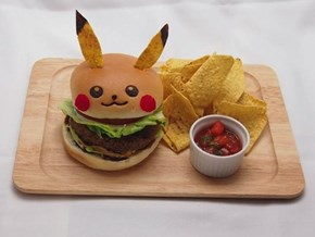 The Pikachu Burger at the Pikachu Cafe in Japan is So Cute