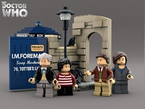 A Classic Doctor Who Set That Needs to Be Lego'd