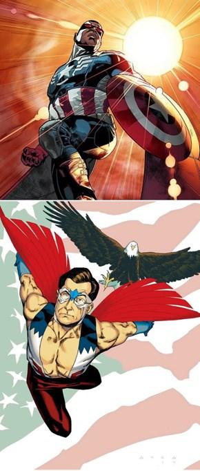 Marvel Announces New Captain America on Colbert Report