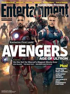 EW Gives Us a First Look at Ultron