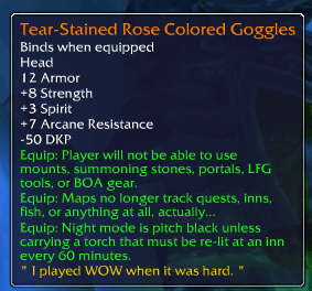 New WoW Legendary
