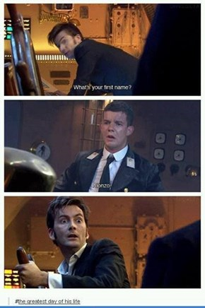 And Now he Can Regenerate Happily