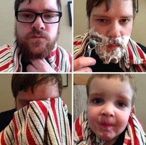 Beard Shaving Can Be a Rough Experience