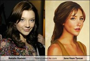 Natalie Dormer Totally Looks Like Jane from Tarzan