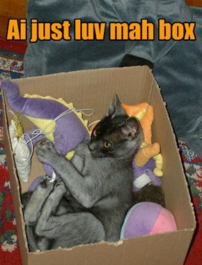 Ai just luv mah box