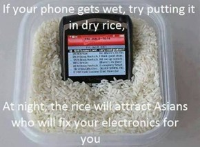 Wet Cellphone Fix!