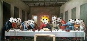 Panda Last Supper...