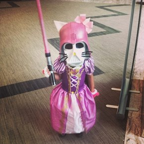 Hello Kitty Vader Princess Wins All of Cosplay