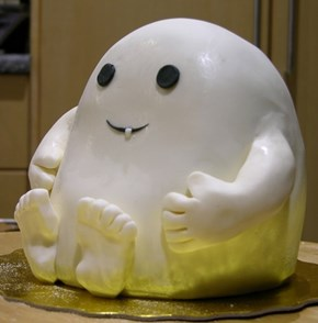 This Adipose Cake Is Way More Than 1 Lb of Fat