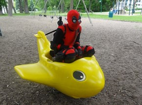 Deadpool In Action
