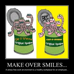 MAKE OVER SMILES...