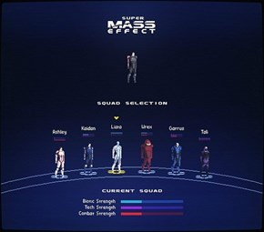 If Mass Effect Was on the SNES
