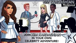 Kim Kardashian Has a Branded iPhone Game (Already Terrible) and People Were Really Upset That it Went Down This Weekend (Somehow More Terrible)