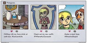 If Link Had Instagram