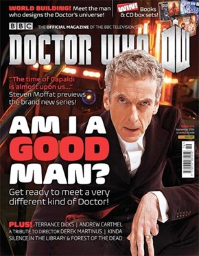 Capaldi Is The Perfect Cover Doctor For This Month's DWM