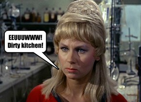 EEUUUWWW! Dirty kitchen!
