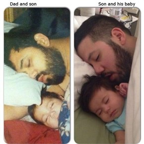 Like Father, Like Son (Times Two)