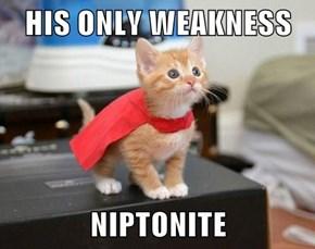 HIS ONLY WEAKNESS  NIPTONITE