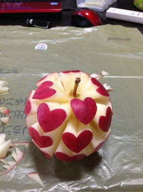 Who Doesn't Love Love Apples?
