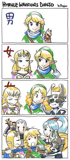 Hyrule Warriors...?