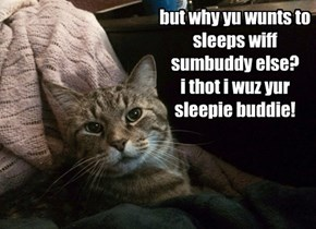 who gonna purr yu to sleeps?