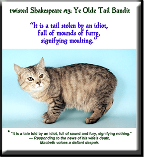 twisted Shakespeare #13: Ye Olde Tail Bandit