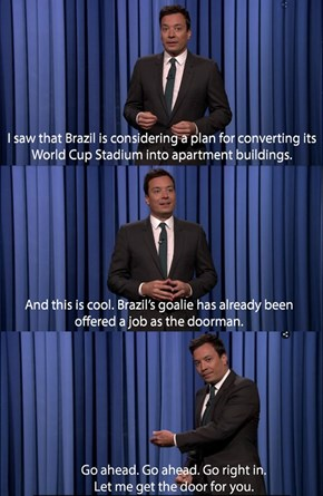 Jimmy Fallon's Got the 2016 Olympics in Rio All Figured Out