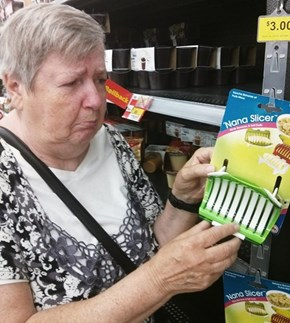 Anything but Gran-Gran!