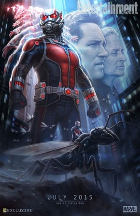 Marvel's Comic-Con Ant-Man Poster