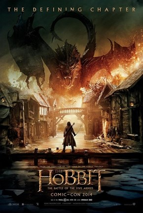 New Poster for the Hobbit Released at SDCC