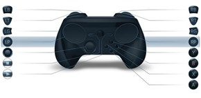 The Steam Controller's Had Another Facelift, This Time With a Thumbstick
