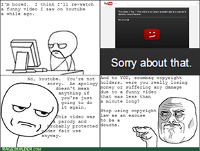 Deleted Video Rage