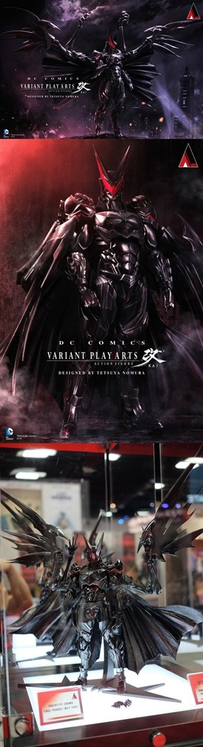 This is What Batman Looks Like Designed by Kingdom Hearts Boss Tetsuya Nomura