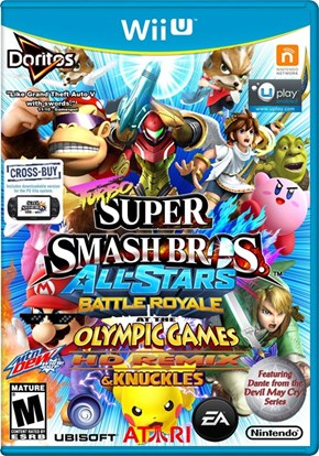 Updated Super Smash Bros. Cover Leaked