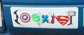 The Best 'Coexist' Bumper Sticker