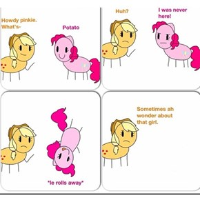 Sometimes i wonder about pinkie