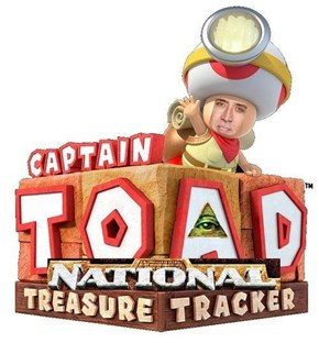 Who Let Captain Toad Outta His Cage?