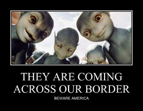 THEY ARE COMING ACROSS OUR BORDER