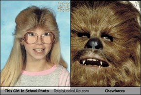 This Girl In School Photo Totally Looks Like Chewbacca